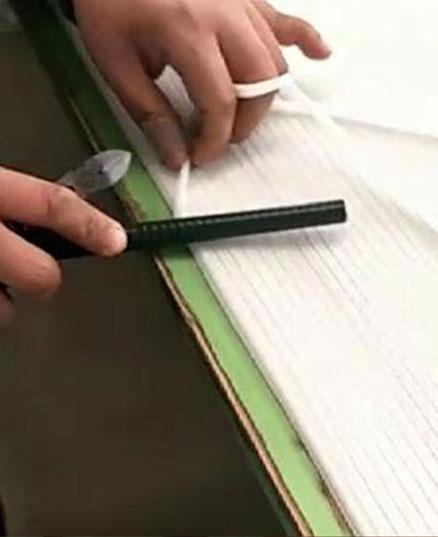 Полиэфирная формовочная ткань